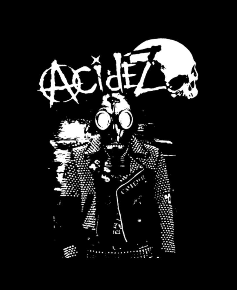 acidez t-shirt backpatch