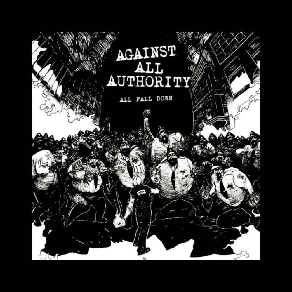 against all authority t-shirt backpatch