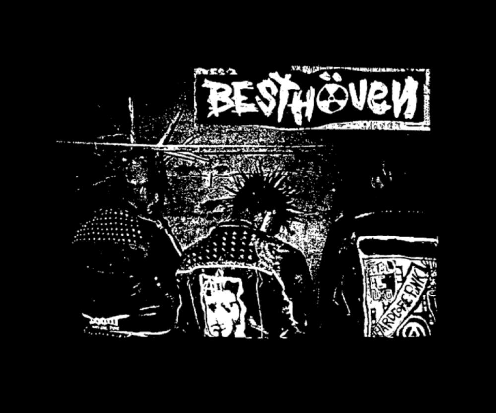besthoven t-shirt backpatch