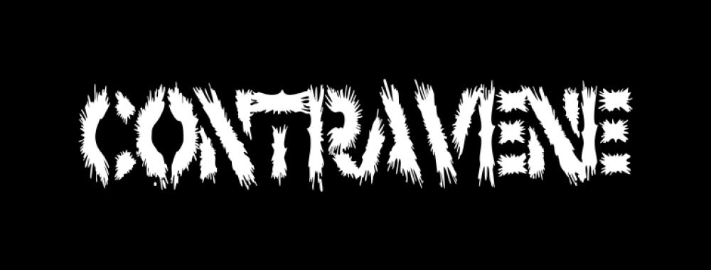 contravene t-shirt backpatch