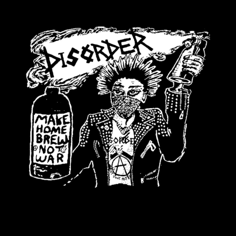 disorder t-shirt backpatch
