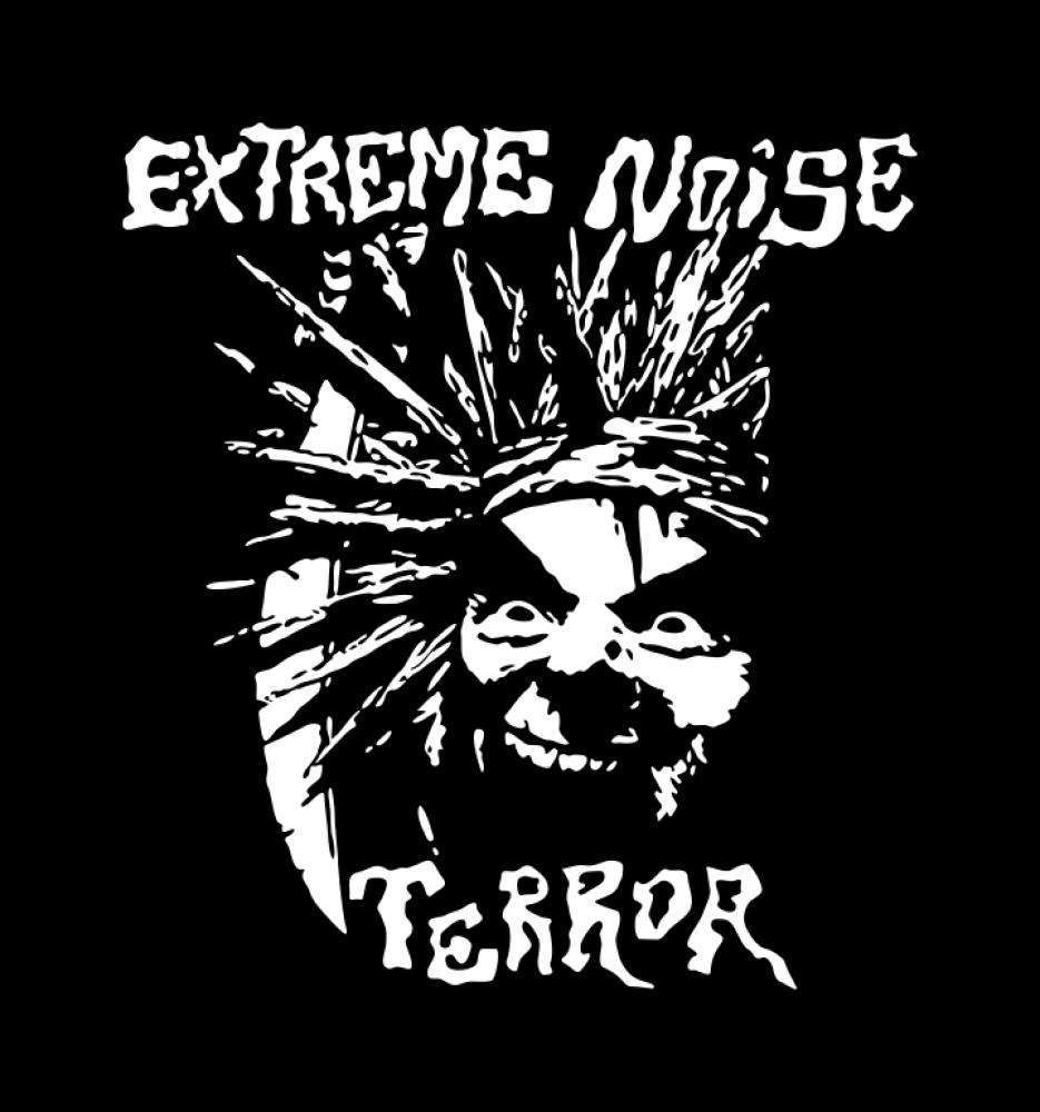 extreme noise terror t-shirt backpatch