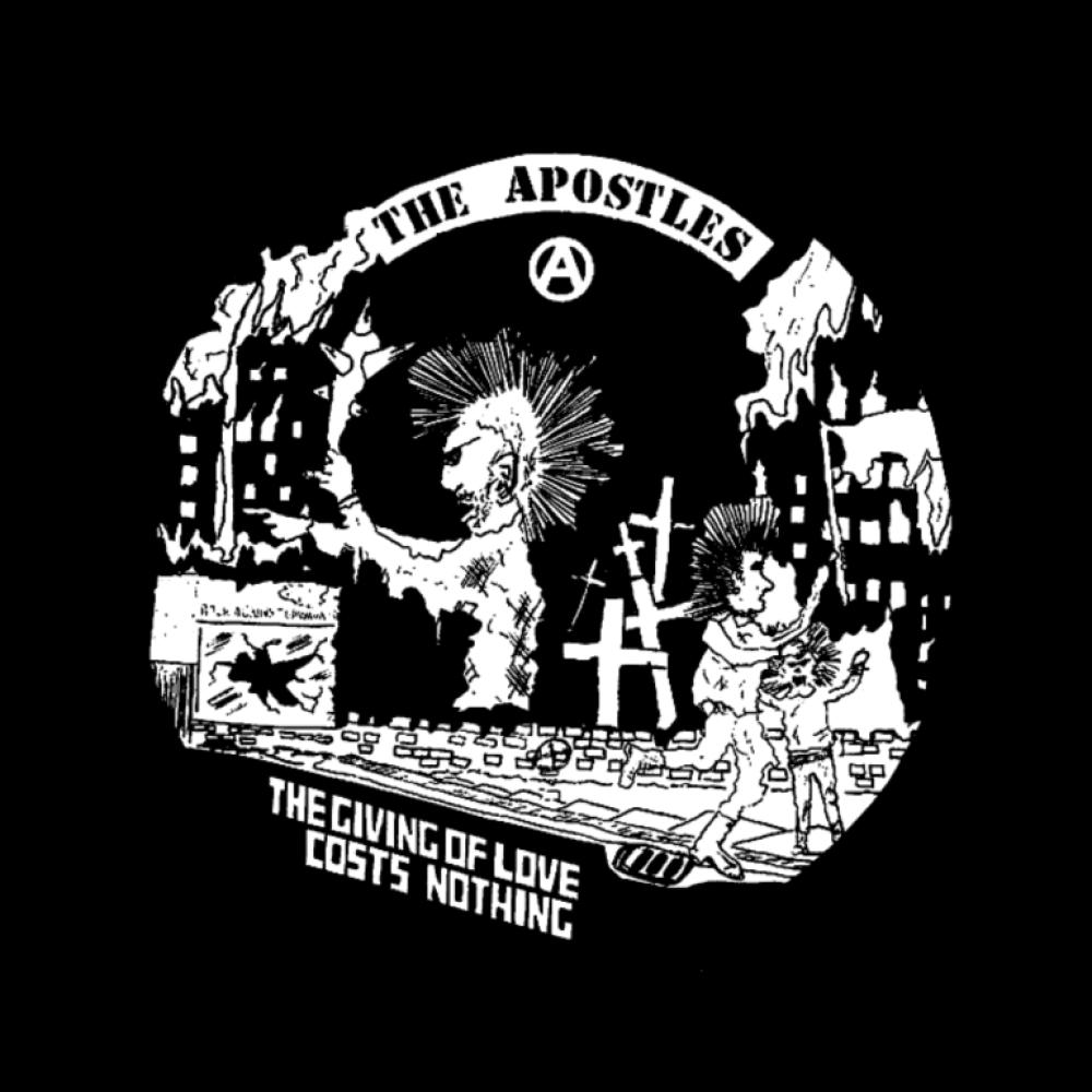 the apostles t-shirt backpatch