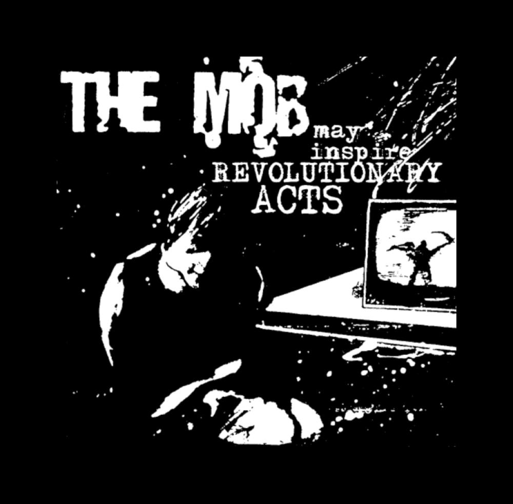 the mob t-shirt backpatch