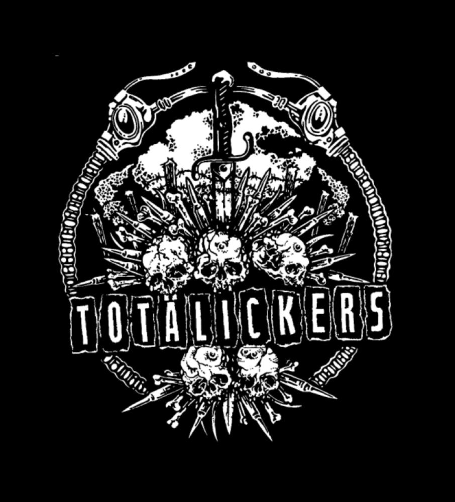totalickers t-shirt backpatch