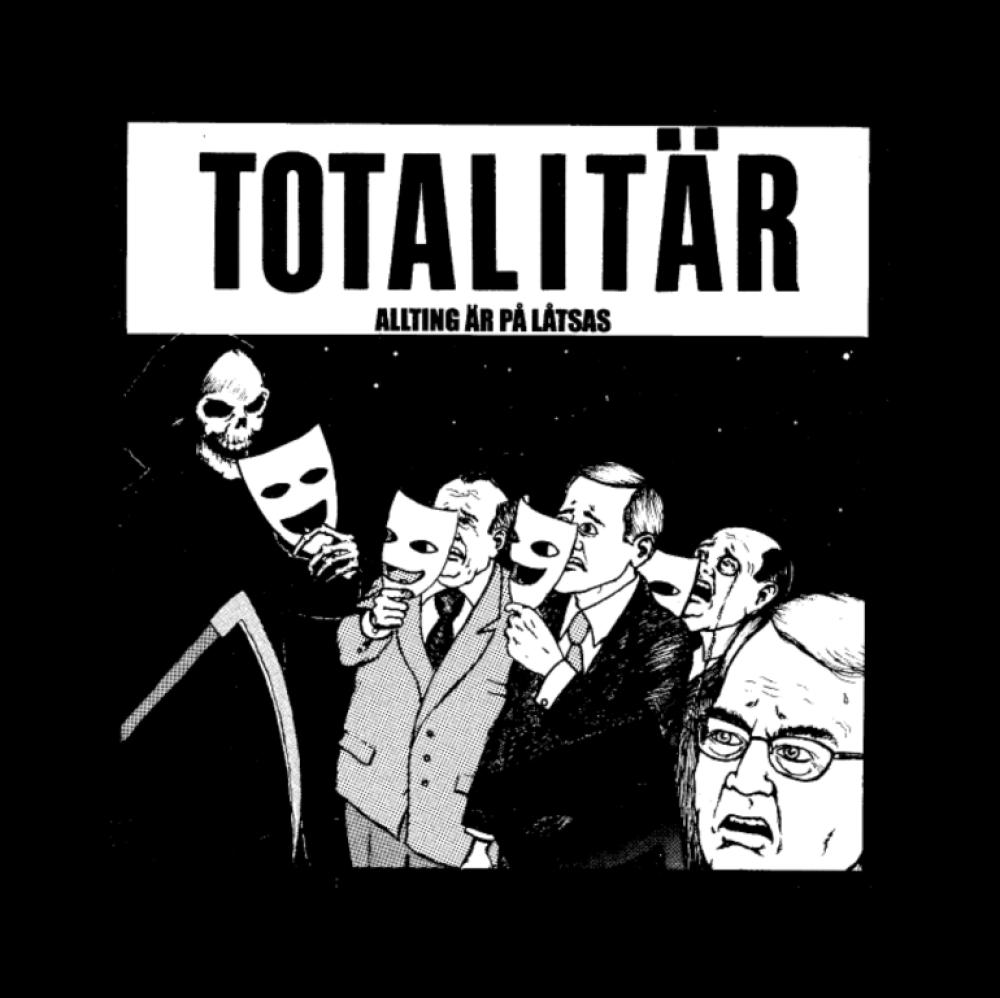 totalitar t-shirt backpatch