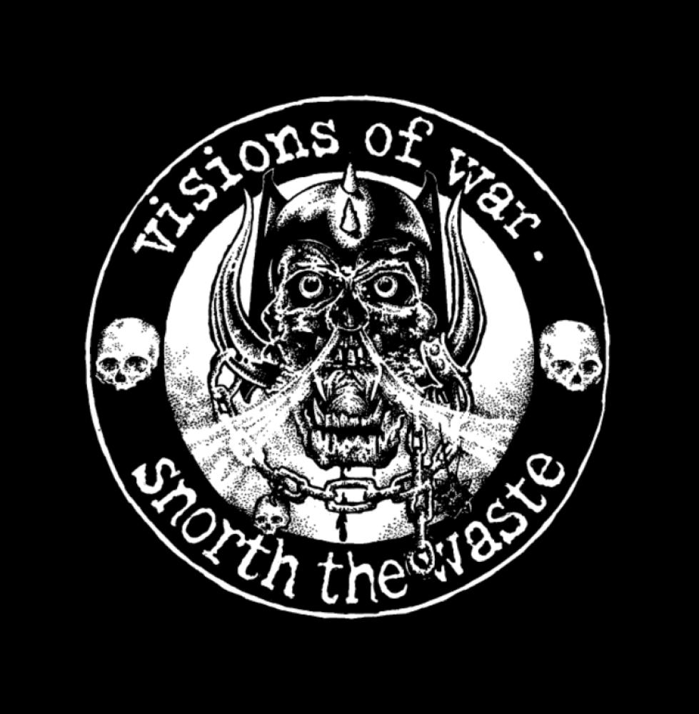 visions of war t-shirt backpatch