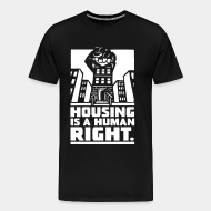 T-shirt Xtra-Large Housing is a human right