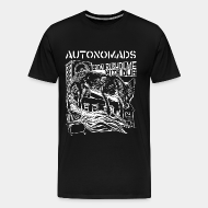 T-shirt Xtra-Large Autonomads - from rusholme with dub