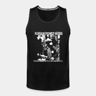 Tank top ♂ Desobediencia Civil - no hay libertad sin desobediencia
