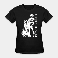 Women's t-shirt ♀ Fuck the flag