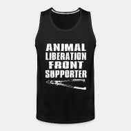 Tank top Animal liberation front supporter
