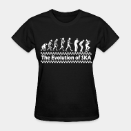 Women's t-shirt The evolution of SKA