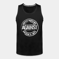 Tank top United hardcore against racism & hate