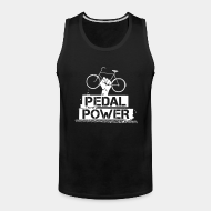Tank top ♂ Pedal power