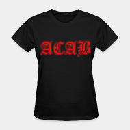 Women's t-shirt ACAB