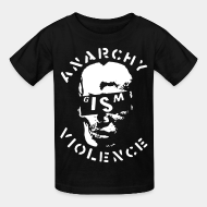 Kid's t-shirt G.I.S.M. - Anarchy Violence