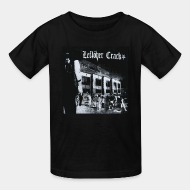 Kid's t-shirt Leftover crack - Shoot the kids at school