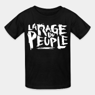 Kid's t-shirt La rage du peuple