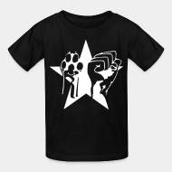 Kid's t-shirt animal liberation vegetarian vegan ALF animal liberation front