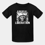 Ni�os animal liberation vegetarian vegan ALF animal liberation front