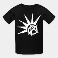 Kid's t-shirt punk crust anarcho punk oi