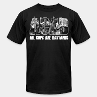 Camisetas de producci�n local ACAB All Cops Are Bastards