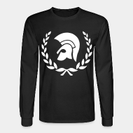 Long-sleeves crewneck t shirt
