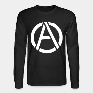 Long-sleeves crewneck Anarchism