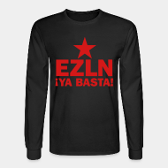 Long-sleeves crewneck EZLN Ya basta!
