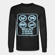 Long-sleeves crewneck Meat free zone