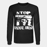 Mangas largas Stop animal abuse