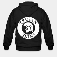 Zip hooded sweatshirt Trojan Skins