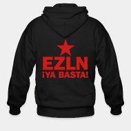 Zip hooded sweatshirt EZLN Ya basta!
