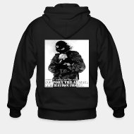 Sudaderas con capucha (Zip) Support the animal liberation front