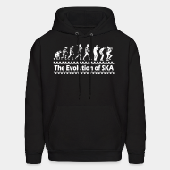 Hooded sweatshirt The evolution of SKA