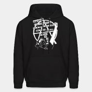 Hooded sweatshirt Anarchism is the revolutionary idea that no one is more qualified than you are to decide what your life will be