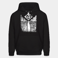 Hooded sweatshirt t shirt