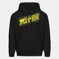 Hooded sweatshirt Class war - The workers strike back