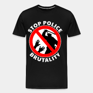 T-shirt Xtra-Large Stop police brutality