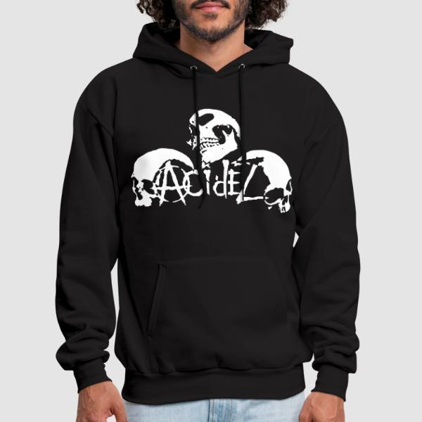 Acidez - Band Merch Hooded sweatshirt