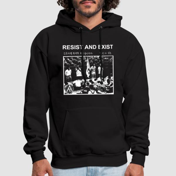 Resist And Exist - Band Merch Hooded sweatshirt