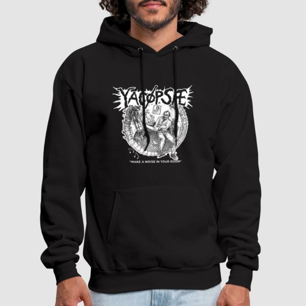 """Yacopsae """"Make a noise in your room"""" - Band Merch Hooded sweatshirt"""