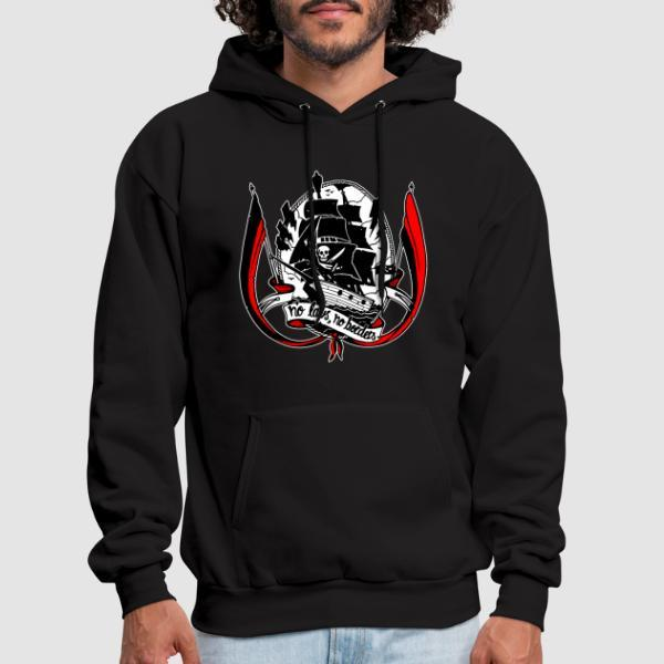 No laws, no borders - Activist Hooded sweatshirt