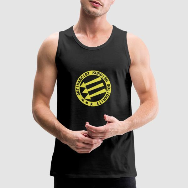Antifascist Kurdish solidarity  - Rojava Tank top