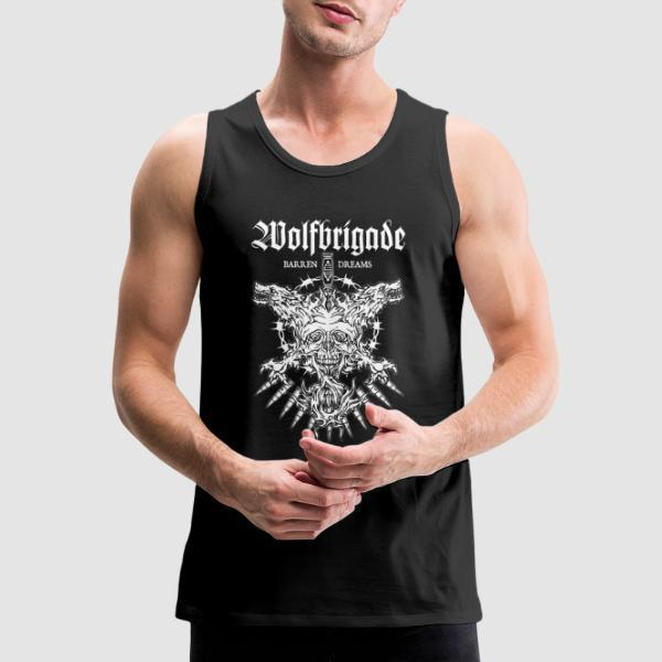 Wolfbrigade barren dreams - Band Merch Tank top
