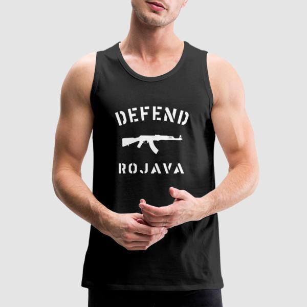 Defend Rojava - Rojava Tank top