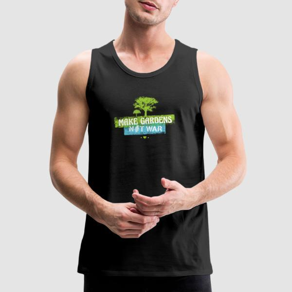 Make gardens not war - Eco-friendly Tank top