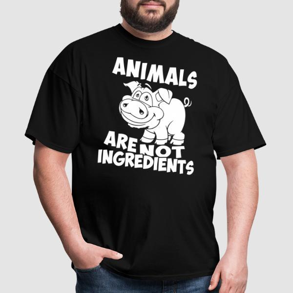 Animals are not ingredients - Animal Liberation T-shirt