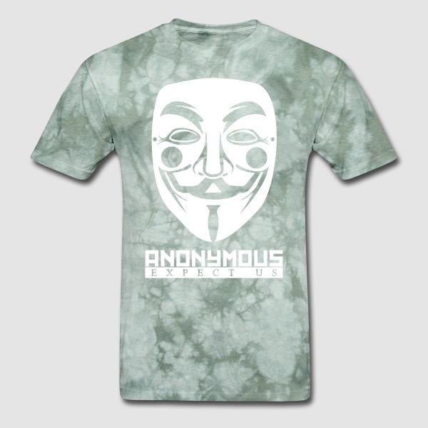 Anonymous. Expect us - Anonymous T-shirt